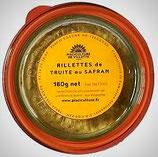 Rillettes de truite au safran - 180 g