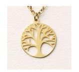 Hochwertige Halskette Lebensbaum