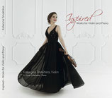 """CD """"Inspired"""" Works for Violin and Piano"""