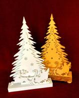3 D weihnachtsliche Aufsteller