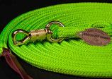 Lead Rope in 3,7 m Länge PROFI ohne Öse mit Drehkippkarabiner