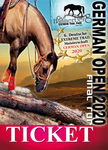 Ticket German EXTREME TRAIL Open 2020 FINAL RUN