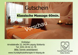 Klassische Massage ab 33.-€