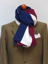 J.C.-Schal in Blau-Weiß-Rot