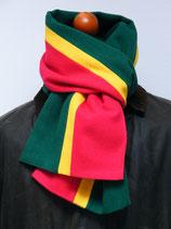 J.C.-Schal Rot-Grün (mit Gelb)