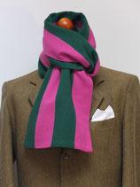 J.C.-Schal in Grün-Pink