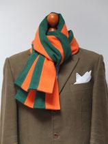 J.C.-Schal für Jäger in Grün-Orange