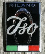Emblem Iso Rivolta schwarz / Badge Iso Rivolta black