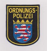 Ärmelabzeichen Ordnungspolizei Hessen
