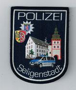 Ärmelabzeichen Polizei Seligenstadt