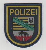 Ärmelabzeichen   Polizei Sachsen-Anhalt