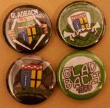 Gladbach 4er Buttonset