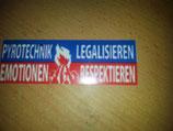 200 Pyrotechnik legalisieren Blau/rot