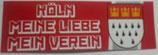 150 Köln Meine Liebe länglich Aufkleber