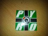 200 Pyro Viereckig Grün 7x7