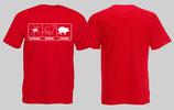 ACAB Bullenschweine Shirt rot