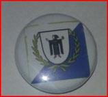 München Blau Stadtwappen Button