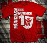 München Die Nummer1 Shirt Rot