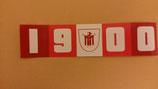 150 München 1900 Länglich Aufkleber