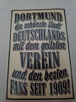 150 Dortmund die schönste Stadt Riesen Aufkleber