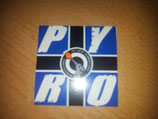 200 Pyro Viereckig Blau 7x7