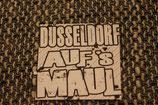 150 Düsseldorf Aufs Maul Aufkleber