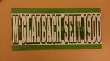 150 Gladbach seit 1900 Aufkleber länglich