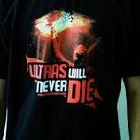 Ultras Never Die (bunter pyroaufdruck)