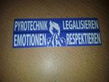 200 Pyrotechnik legalisieren 12x4 blau