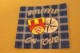 Bielefeld on Tour 8x8 Aufkleber