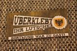 150 Dortmund Überklebt Aufkleber