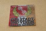 100 Mainz Für Stadt und Verein Aufkleber