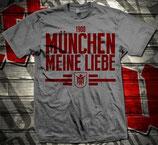 München Meine Liebe Dunkelgrau Shirt