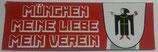 150 München Meine Liebe länglich Aufkleber