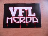 VFL Merda Postkartengrösse Anti gladbach,Anti bochum