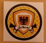 150 Dortmund Kreis 7x7cm Aufkleber