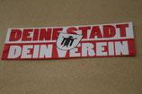 150 München Deine Stadt dein Verein Aufkleber