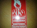 200 Pyrotechnik legalisieren Rot