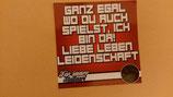 150 Stuttgart Ganz egal wo du spielst Aufkleber