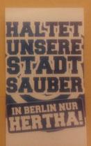 150 Halte Deine Stadt sauber Berlin Aufkleber