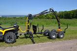 ATV Forstanhänger Country 410+T15