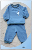 Baby-und Kinder Sweatanzug mit Stickerei!