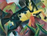 Franz Marc. Springendes Pferd
