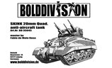 Skink 20mm Quad.  AA tank conversion