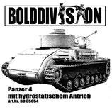 Panzer 4 mit hydrostatischem Antrieb