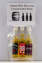 Three Malts Collectors Pack II - Micro Whisky Miniatures (Guinness World Records)