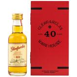 Glenfarclas 40 Jahre - Miniatur