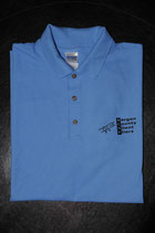 BCSF Pique Polo in Carolina Blue