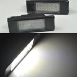 CITROEN LUCES MATRICULA LED