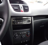 PEUGEOT 207 PLACA RADIO CD INOX